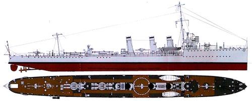 HMS Mary Rose 1916 (Destroyer)