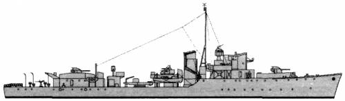 HMS Melbreak (Destroyer Escort) (1943)
