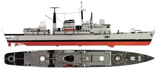 HMS Newcastle D87 (Type 42 Destroyer)