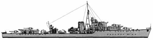 HMS Raider (Destroyer) (1943)