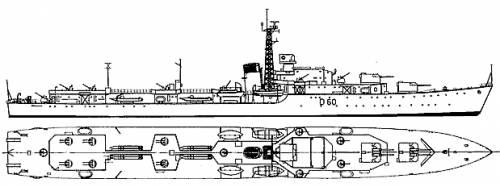 HMS Sluys (Destroyer) (1946)