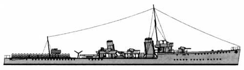 HMS Thracian (Destroyer) (1939)