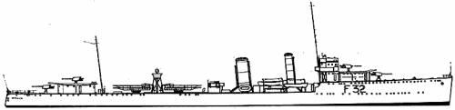 HMS Versatile (Destroyer) (1917)