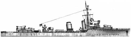 HMS Viceroy (Destroyer) (1942)