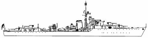HMS Virago (Destroyer) (1943)