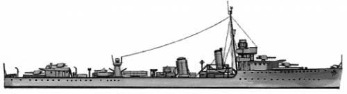HMS Walpole (Destroyer) (1942)