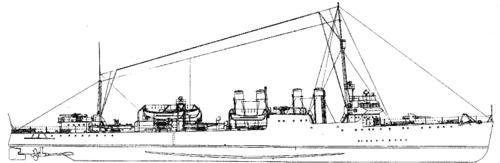 USS DD-149 Ward (1942)