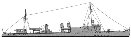 USS DD-244 Williamson (1941)
