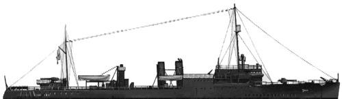 USS DD-244 Williamson (AVP-15) (1942)