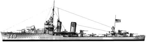 USS DD-348 Farragut (1935)