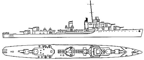 USS DD-356 Porter