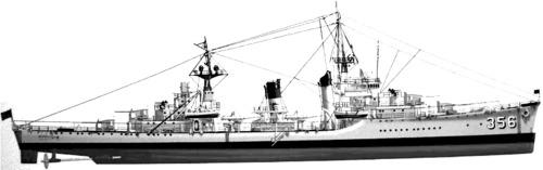 USS DD-356 Porter (1936)
