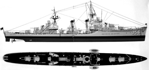 USS DD-356 Porter (1940)