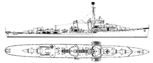 USS DD-356 Porter (1941)