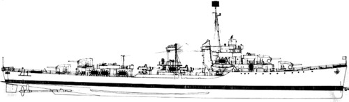 USS DD-356 Porter (1942)