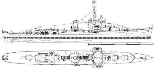 USS DD-356 Porter 1942 [Destroyer]