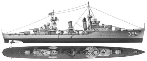 USS DD-359 Winslow (1940)