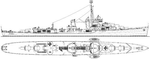 USS DD-360 Phelps 1942 [Destroyer]