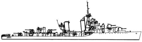 USS DD-364 Mahan (1939)