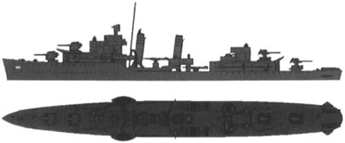 USS DD-364 Mahan (1942)