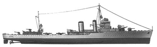 USS DD-368 Farragut (1939)