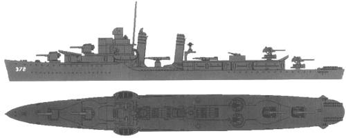 USS DD-372 Cassin (1943)