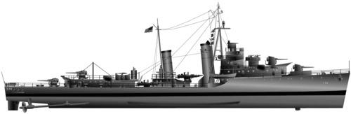 USS DD-374 Tucker (1944)