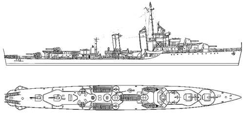 USS DD-376 Cushing