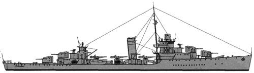 USS DD-381 Somers (1940)