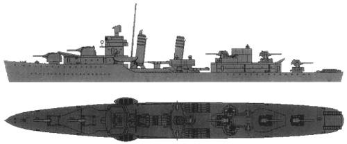 USS DD-384 Dunlap