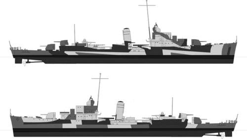 USS DD-395 Davis (1944)