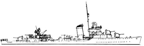 USS DD-409 Sims (1939)
