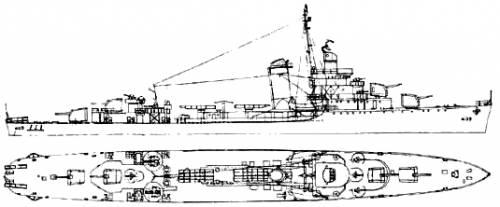 USS DD-409 Sims (1942)