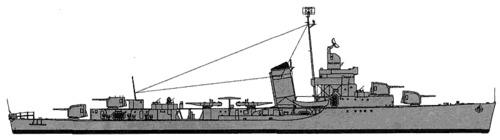 USS DD-415 OBrian (1942)