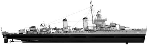 USS DD-421 Benson -2 (1942)