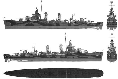 USS DD-429 Livermore (1942)