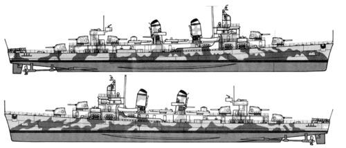 USS DD-445 Fletcher (1942)