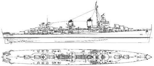 USS DD-445 Fletcher [Destroyer]