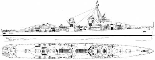 USS DD-445 Heermann (Destroyer