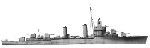 USS DD-453 Bristol (1944)