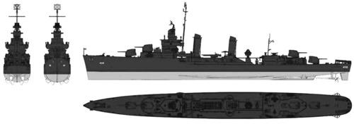 USS DD-459 Laffey (1942)