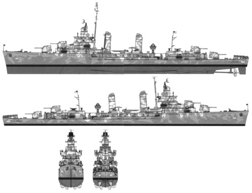 USS DD-484 Buchanan (1942)