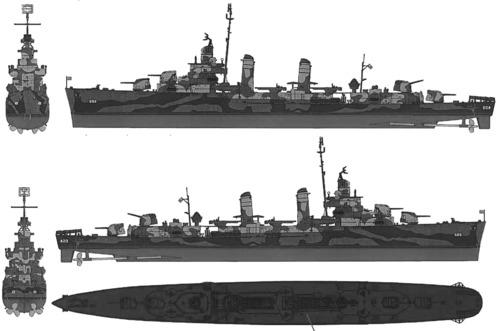 USS DD-484 Livermore (1942)