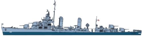 USS DD-486 Lansdowne (1945)