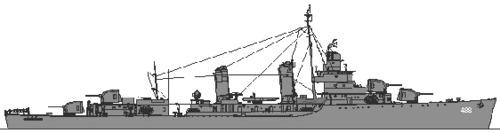USS DD-488 McCalla (1944)