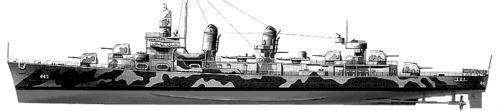 USS DD-532 Fletcher