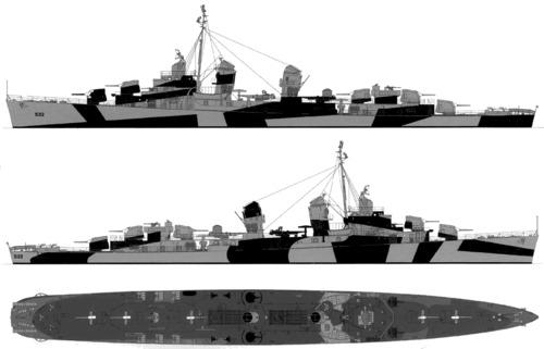 USS DD-532 Heermann (1944)