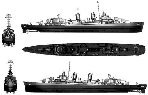 USS DD-537 Sullivans