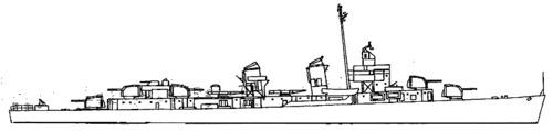 USS DD-570 Charles Ausburne (1944)