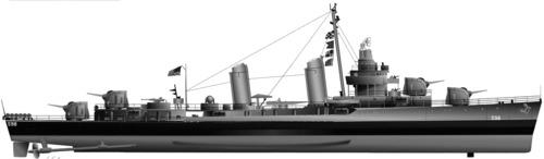 USS DD-598 Bancroft